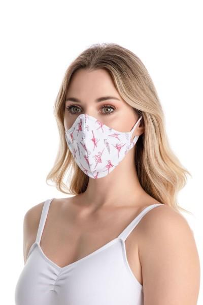 So Danca Maske mit Ohrschlaufen für Erwachsene RDE-2176