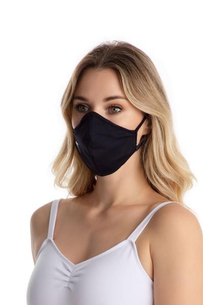 Só Dança Mund-Nasen-Schutz mit Ohrschlaufen für Erwachsene E2170-RD